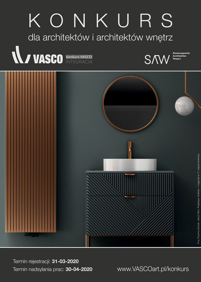 plakat konkursu VASCO Integracja 2020