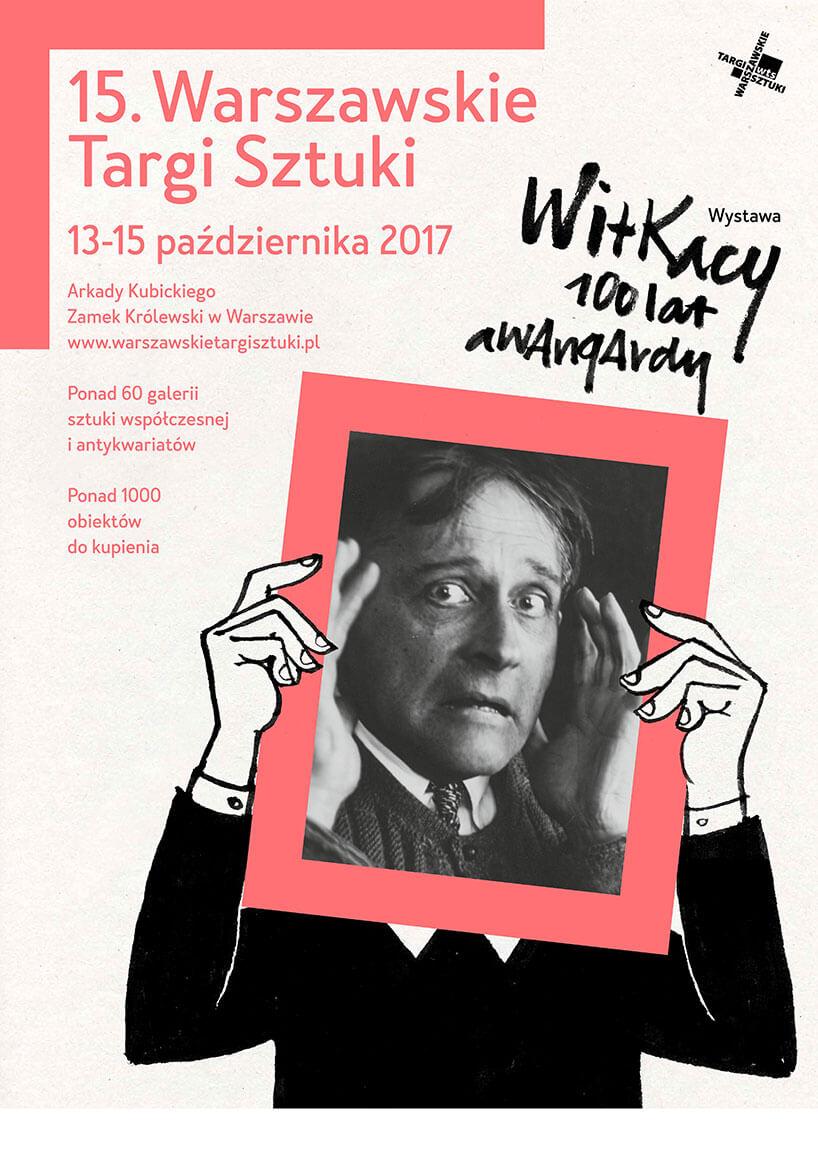 plakat 15. Warszawskich Targów Sztuki