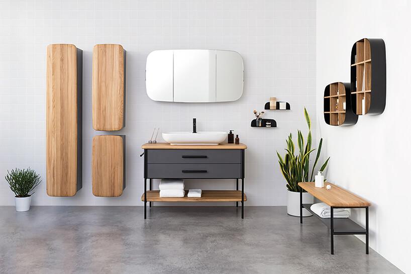 Oval, kolekcja mebli łazienkowych