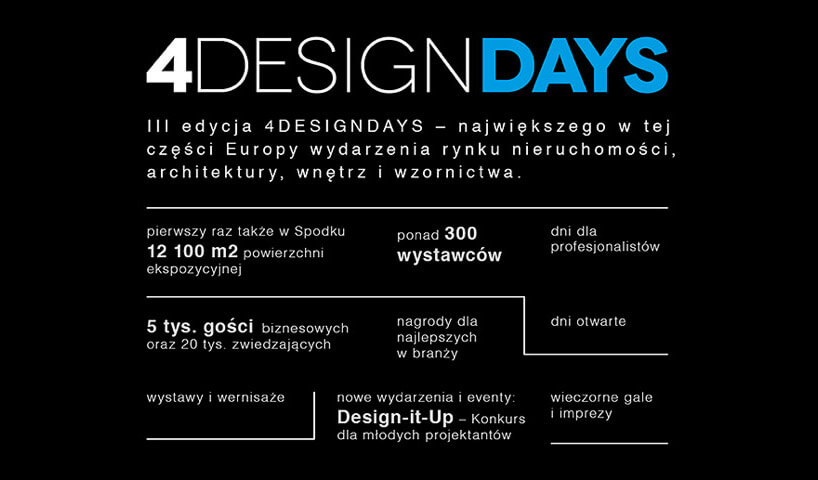 4DD - 4 Design Days 2018 agenda