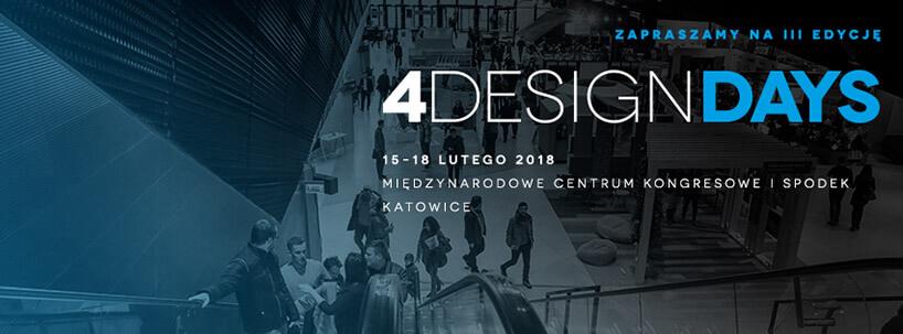 4DD - 4 Design Days 2018 zaproszenie
