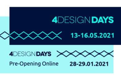 4 Design Days 2021 Pre-Opening plakat
