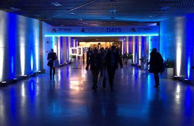 tunel wejściowy na 4 design days 2019