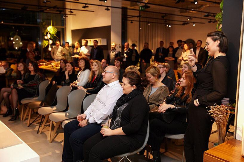 goście na 4 urodzinach BoConcept Warsaw