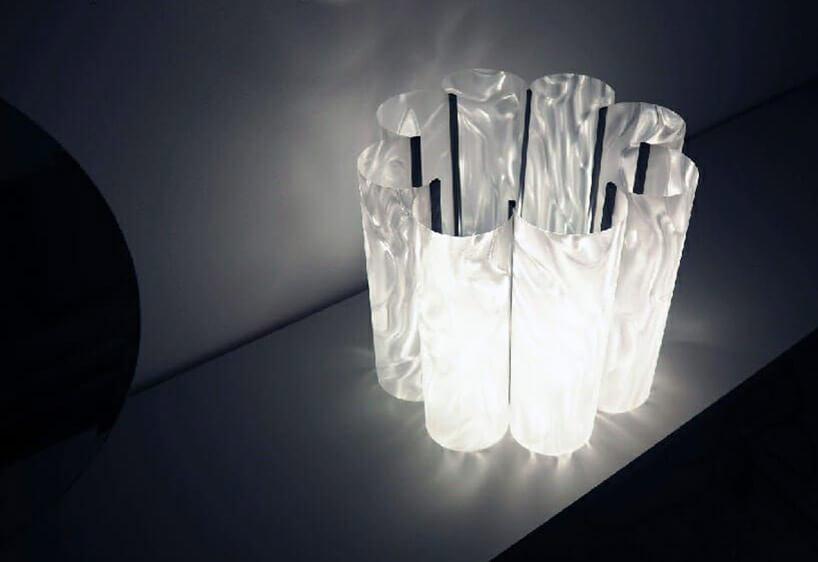 lampa znietypowym kloszem