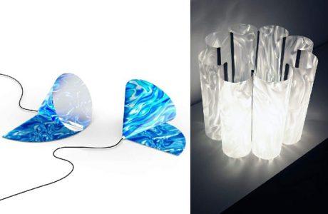 dwa zwycięskie projekty na lamp na konkurs Muraspec