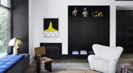 projekt wnętrza domu wstylu eklektycznym wAustralii od Flack Studio