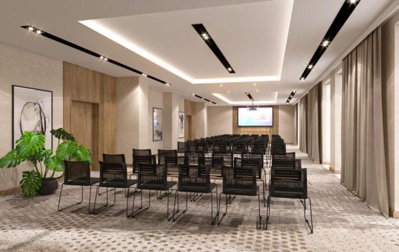 sala konferencyjna whotelu marriott projekt tremend