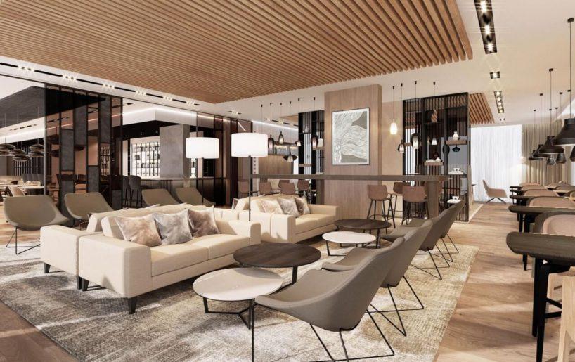 wnętrz hotelu marriott projekt tremend