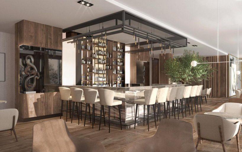projekt restauracji whotelu marriott wkrakowie