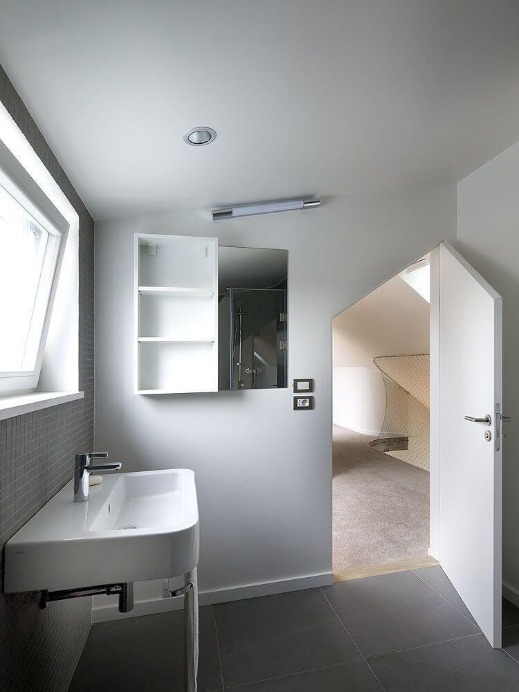 łazienka wstylu loftowym