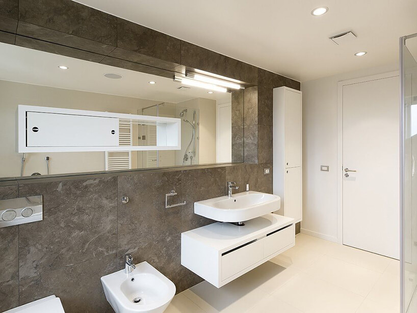 kamienna łazienka