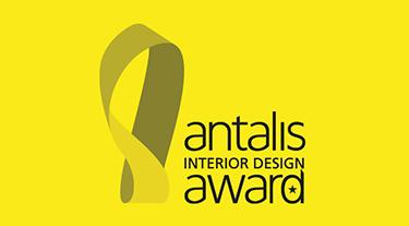 żółto czarny logotyp Antalis Interior Design Award