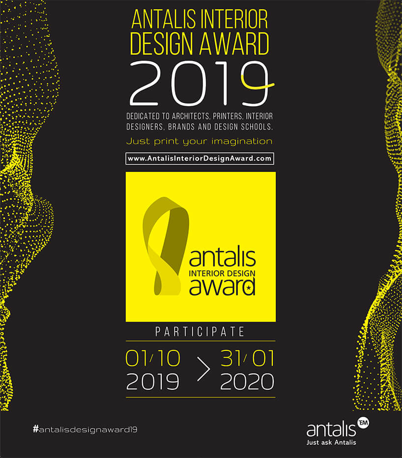 plakat Antalis Interior Design Award 2019