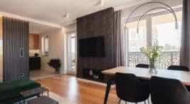 nowoczesny, funkcjonalny apartament od pracowni Kaza Interior Design