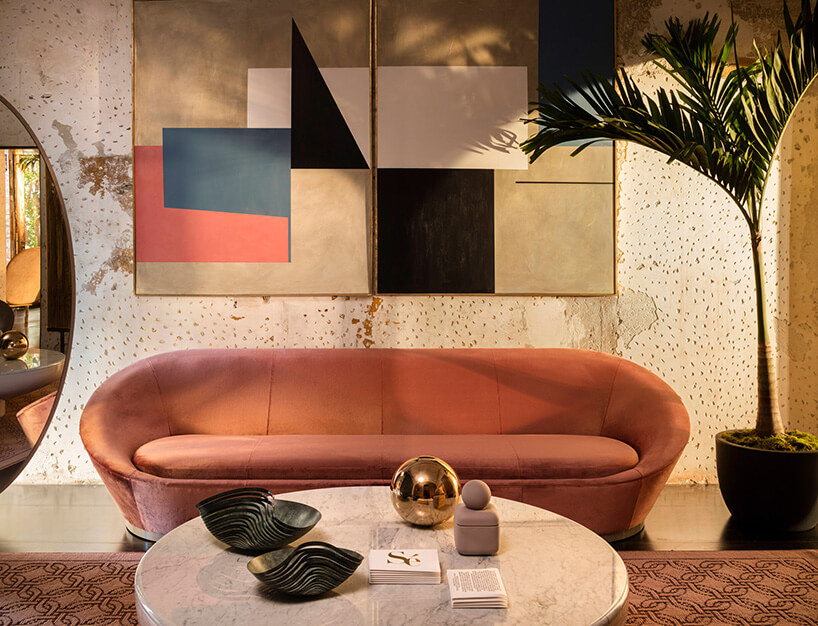 Luksusowy kamiennym stół