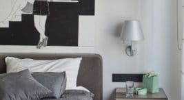 nowoczesny apartament na Bielanach projektu Bibianny Stein-Ostaszewskiej