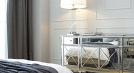 nowoczesny elegancki apartament ze złotymi akcentami wMonachium projektu MIKOŁAJSKAstudio