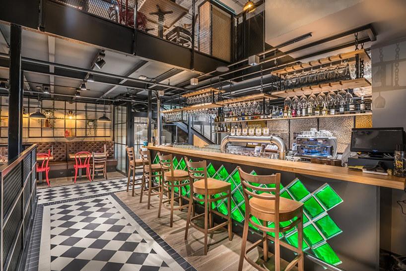 wizualizacja restauracji-pubu