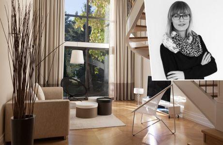 aranżacja architektki Ewy Smugi