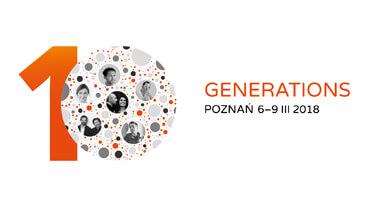 zaproszenie arena DESIGN 2018 Generations