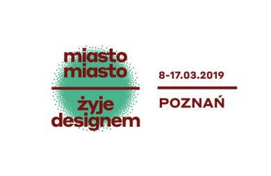 zaproszenie na Arena Design 2019 - miasto, miasto żyje designem