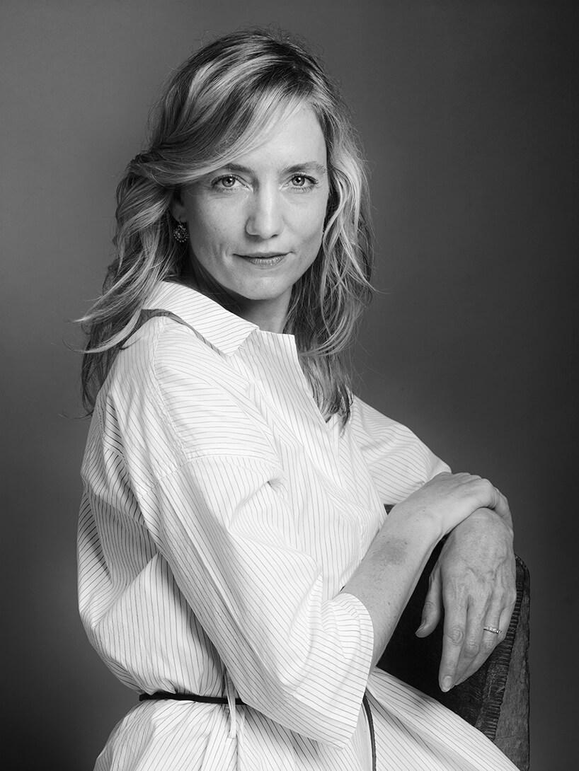 czarno białe zdjęcie Carole Baijings gościa Arena Design 2020