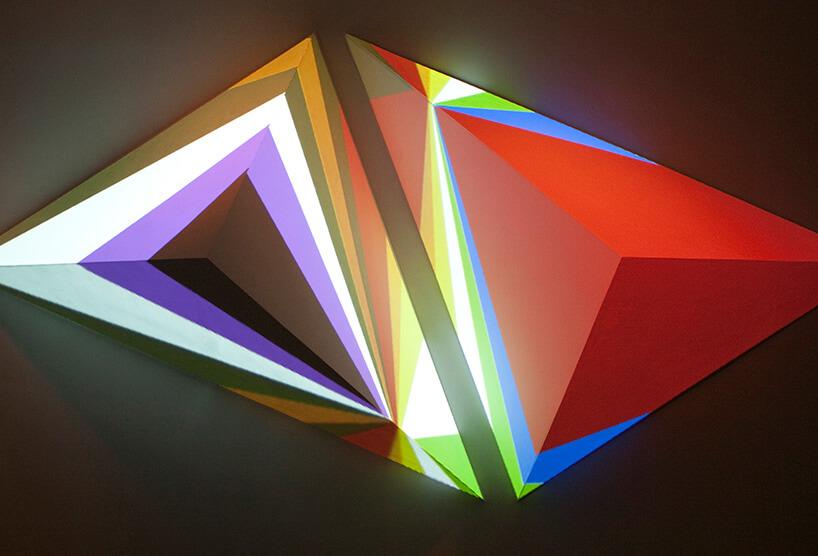 trójkąty wpaski