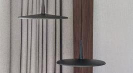 Minimalistyczny nowoczesny apartament od BAJERSOKÓŁ team wjasno szarych ibrązowych kolorach