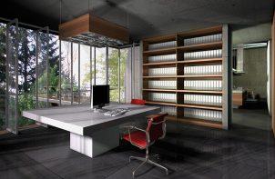 wnętrze projektu domu Bartosza Hugnera