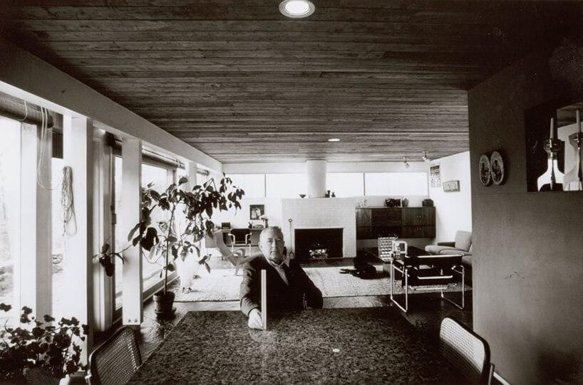 stare czarno-białe zdjęcie Marcela Breuera