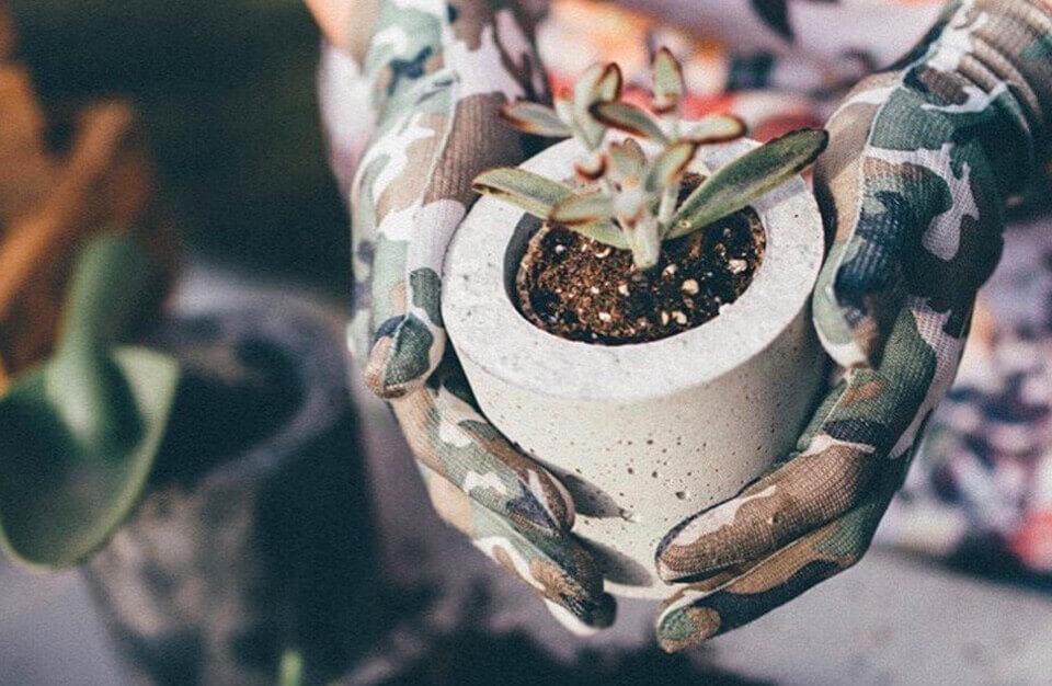 Ręcznie Robione Donice Z Betonu Donice Betonowe Od Growraw