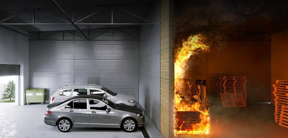 Bierna iczynna ochrona przeciwpożarowa budynków