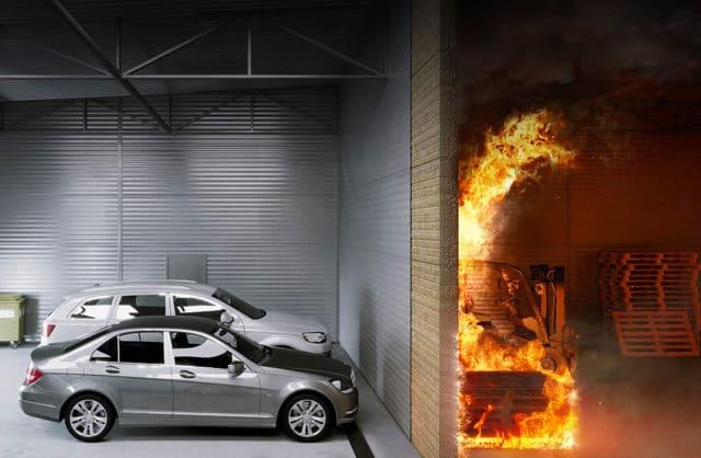 Bierna i czynna ochrona przeciwpożarowa budynków