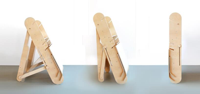 złożona drewniana konstrukcja