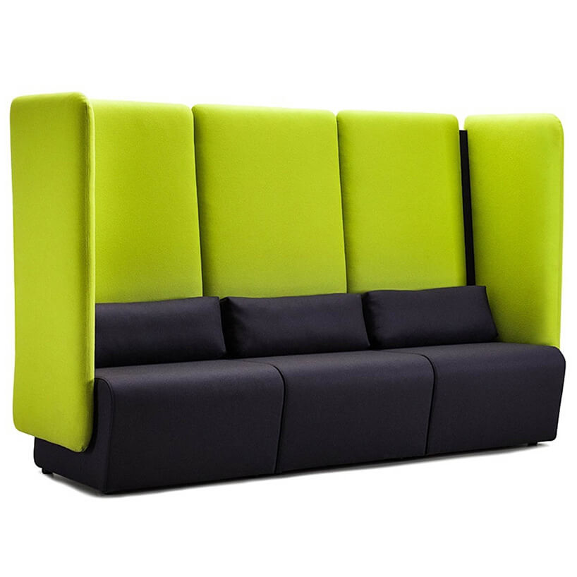 czarno zielona kanapa