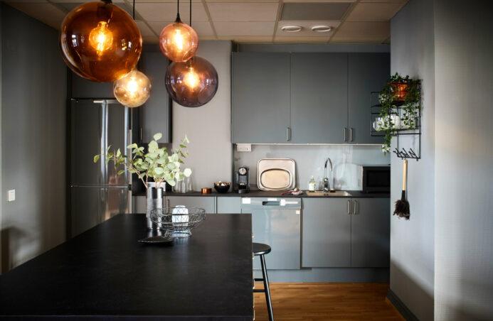 Biuro z recyklingu może być ładne - projekt w Göteborgu