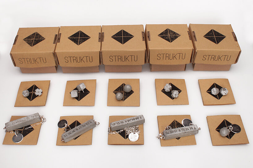 pudełka struktu