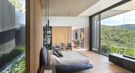 efektowny nowoczesny dom na wzgórzu Casa La Roca wMeksyku