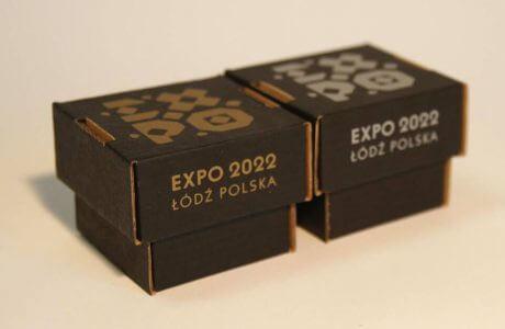 pudełka promocyjne Łódź Expo 2022
