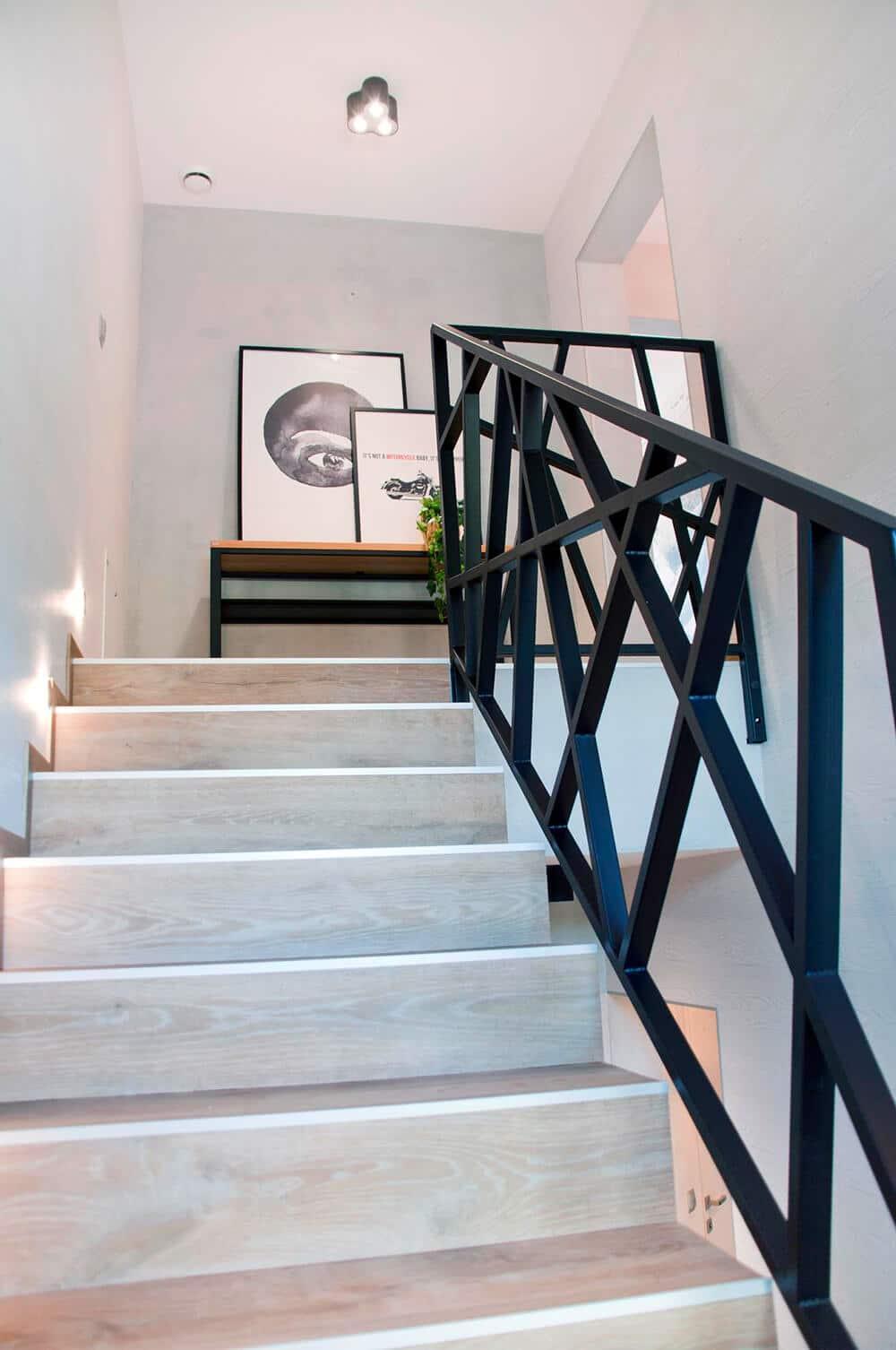 Cegła, metal itkanina: loft wwersji soft