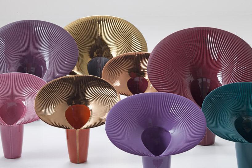 kolorowe dzieła sztuki wkształcie tuby