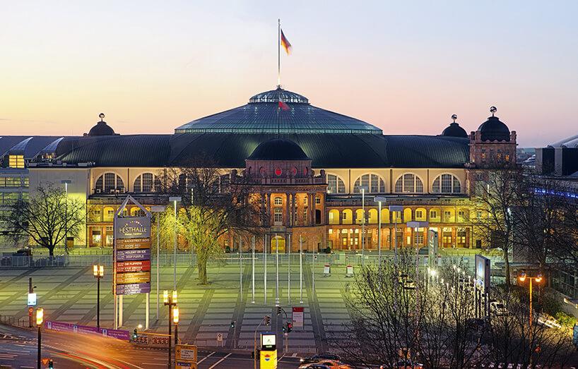 budynek Messe Frankfurt