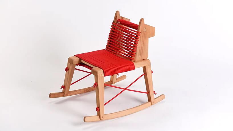Chybotek krzesełko dla dziecka