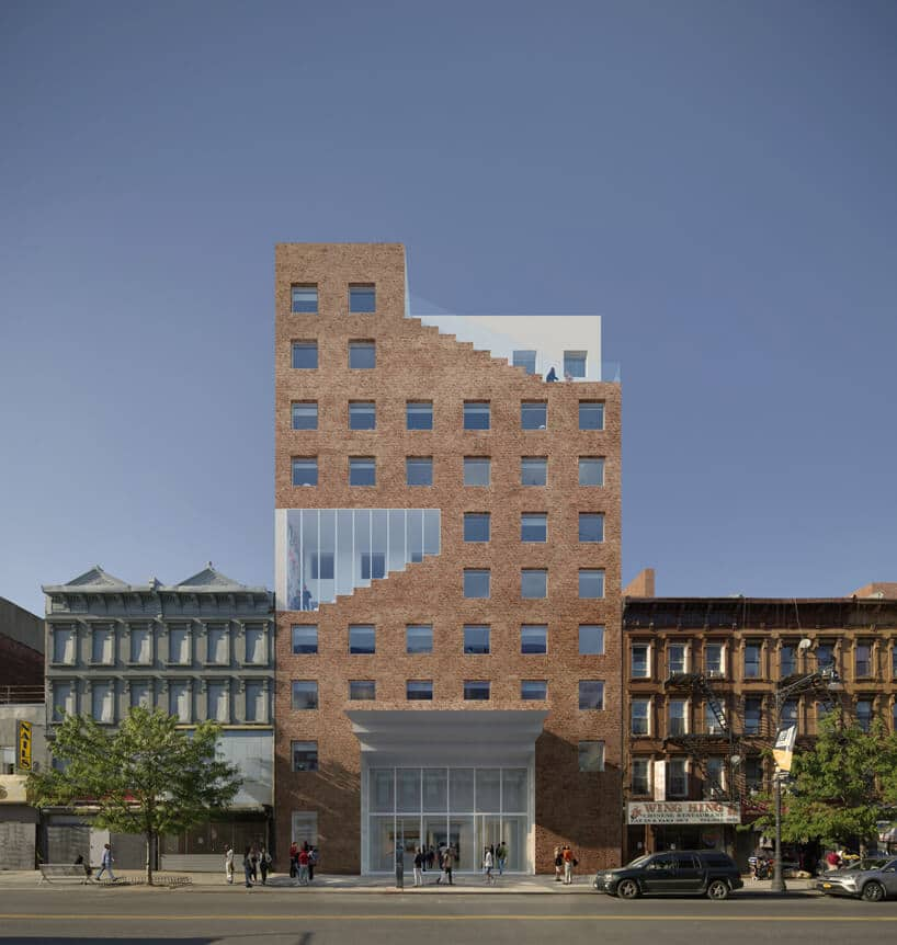 nowoczesny projekt budynku co-livingowego The Collective iSou Fujimoto