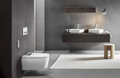 Czerń, drewno i inteligentne wyposażenie: trendy łazienkowe 2021