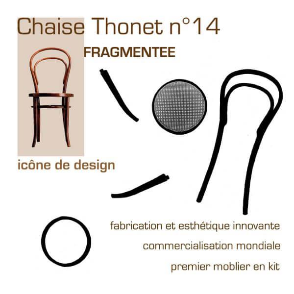 krzesło thoneta numer 14 wczęściach