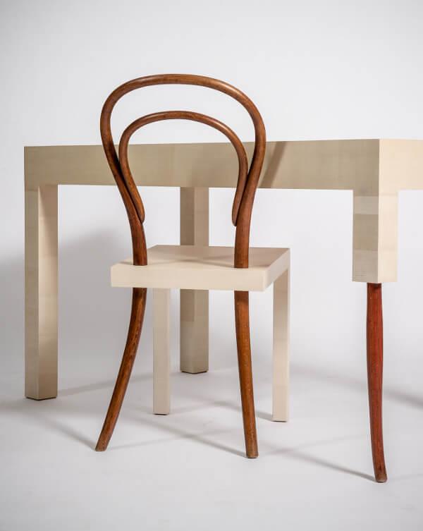 krzesło istół po dekonstrukcji