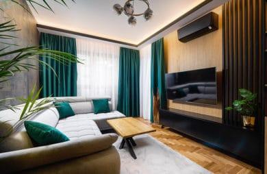 Dekoracja ściany w salonie i sypialni? Lamele ścienne