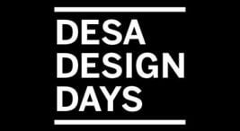 czarno-białe logo Desa Design Days 2018